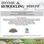 Come and talk to us about your new construction or remodeling project ideas!  Maryville Alcoa Home Builders' Association Home and Remodeling Show October 25 - 26 10:00am - 8:00pm Midland Plaza in the former Halls Salvage Building